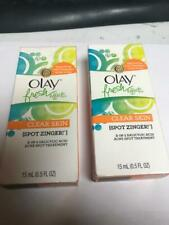 2X OLAY FRESH EFFECTS SPOT ZINGER DISCONTINUED ITEM LQQK FREE SHIPPING