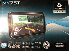Navman MY75T GPS 5 Inch Screen 3D 4WD Tracks Good Cond