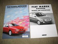 Fiat Marea Bipower Prospekt Brochure prospetto von 12/1999