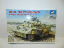 Italeri Model Kit 1:35 Scale M-8 Greyhound Light Armoured Car New #364 War Tank