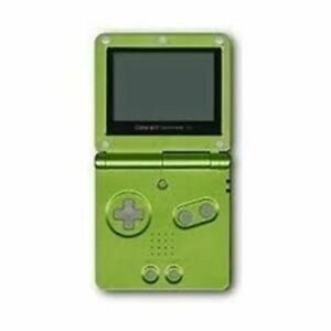 Authentic Nintendo Game Boy Advance SP (Lime Green) w/Charger