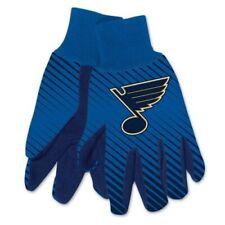 St. Louis Blues ~ (1) Pair Men's Nhl Sport Utility Work Gloves ~ New!
