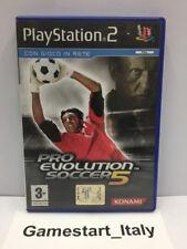 PRO EVOLUTION SOCCER 5 - PES 5 SONY PS2 - GIOCO USATO PERFETTAMENTE FUNZIONANTE