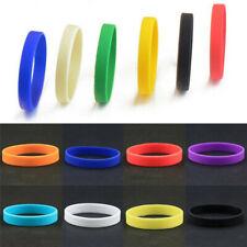 1Pcs Fashion Silicone Rubber Stretchy Sports Cuff Bracelet Bangle Wristband Band