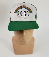 Vintage University Of Hawaii Rainbow Warriors Snapback Hat