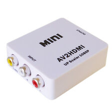 Mini AV to HDMI Converter adaptateur vidéo composite to HDMI TV or Projector