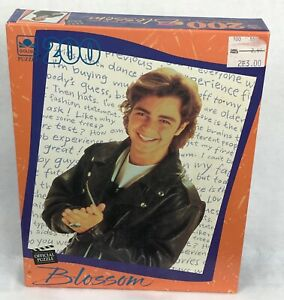 SEALED vintage 90s BLOSSOM JOEY LAWRENCE GOLDEN PUZZLE 200 piece jigsaw tv show