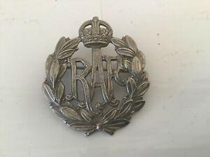 WW2 RAF Royal Air Force - White Metal -Sweetheart Brooch
