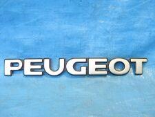 PEUGEOT 306  REAR  'PEUGEOT'  BADGE