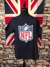 NFL - LOGO - TEE SHIRT - (L) - PLEASE SEE MEASUREMENTS