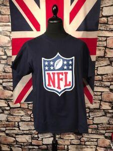NFL - LOGO - TEE SHIRT - (L) - PLEASE SEE MEASUREMENTS