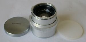 Carl Zeiss Planar 50mm f2 Lens for Zeiss Ikon Contarex Mount Excellent Germany