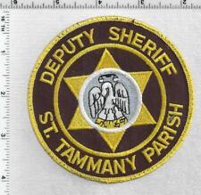 St. Tammany Parish Sheriff (Louisiana) 3rd Issue Uniform Take-Off Shoulder Patch