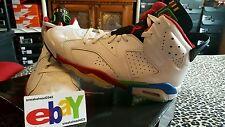 Nike Air Jordan 6 Retro Olympic 3/26/08 WHT/VRSTY RD-GRN BN-NW BL 325387 161