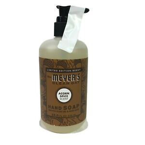 Mrs Meyers Acorn Spice Liquid Hand Soap 12.5 oz Fall Limited Edition Scent