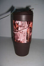 Green Canteen 16oz Double Wall Brown Camo Camouflage Thermo Travel Mug NEW!