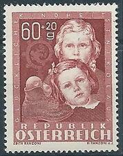 1949 AUSTRIA A PROFITTO OPERE PER L'INFANZIA 60+20G MNH ** - A048