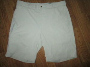 Mens GREG NORMAN athletic shorts sz 36 golf