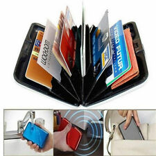 Blocking Wallet Card Aluma New Anti RFID Aluminum Hard Case Holder Scan Credit