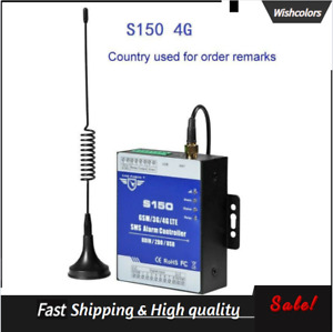 S150 4G 8-Channel SMS Alarm Controller SMS Relay Switch USB Remote Monitoring