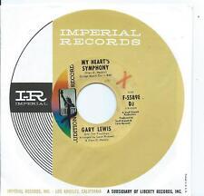 Gary Lewis:My Heart's Symphony/Tina:US Liberty DJ:Northern Soul