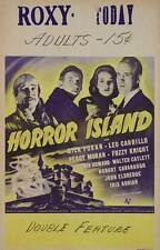 HORROR ISLAND Movie POSTER 27x40