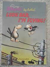 FLYING STARTS~Look Dad I'm Flying~ARKAS~Greek Cartoonist~COMICS~