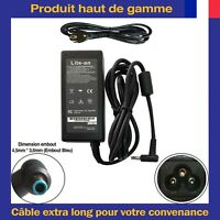 Chargeur Alimentation 19,5V 4,62A 90W Embout Bleu Pour Ordinateur PC Portable HP