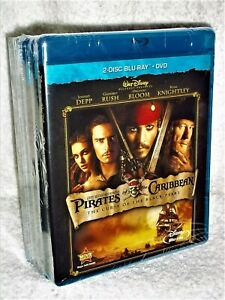 Pirates Of The Caribbean 5-Film Set (Blu-ray/DVD, 2018, 10-Disc) Johnny Depp NEW
