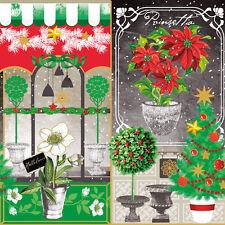 20 Servietten Serviettentechnik X Mas Collage Weihnachten Nouveau GmbH 33x33