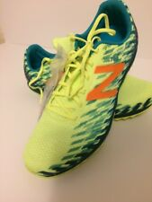 New Balance XC700 v5 Spike Women's Bleached Lime Glo/Moroccan Blue WXCS700L 9.5
