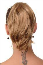 Postiche Tresse Extension Blond Court Sauvage Papillon Support T6545-22