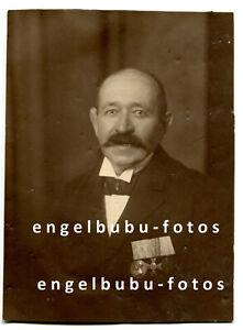 """PORTRAIT-FOTO - BAYERN - Veteran - Selt. """"LUITPOLD-MEDAILLE"""" von 1897 - RARITÄT"""