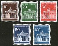 BERLIN 1966, Mi-Nr. 286-290, gestempelt