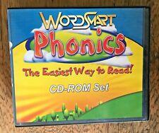 Wordsmart Phonics CD Set for PC Windows - 5 Disc Set