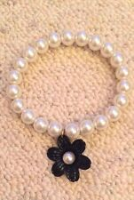 Miss selfridge pearl flower hippie indie bracelet worn once
