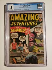 Amazing Adventures #2 (CGC, 0.5/PR) Off-White To White Pages * 1 Book Lot *