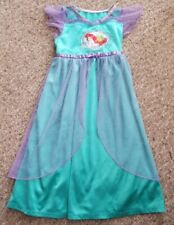 DISNEY Blue ARIEL Mermaid Fantasy Nightgown Play Dress-Up Costume Girls Size 4T