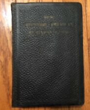 1915 New Standard American Business Guide by E. T. Roe Leather Bound Book
