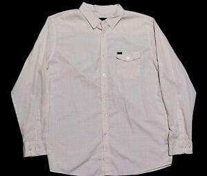 Brixton Mens 2XL Long Sleeve Button Up Shirt EUC