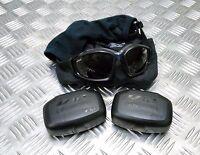Genuine British Army Issue ESS V12 Advancer Ballistic Tactical / Assault Goggles
