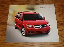 Original 2008 Dodge Grand Caravan Deluxe Sales Brochure 08