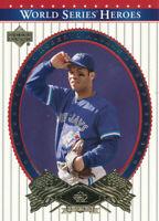 Roberto Alomar 2002 Upper Deck World Series #8 Toronto Blue Jays Baseball Card