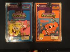 Leap Pad Frog Sponge Bob Stories Finding Nemo Grades 1-3 Brand New sealed Aa45