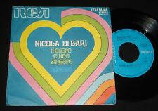 NICOLA DI BARI P/S 45  – IL CUORE E' UNO ZINGARO  1970s ITALIAN POP