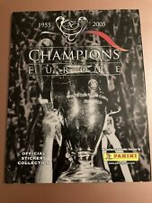 Panini Champions Of Europe Complete