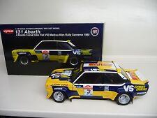 1:18 Kyosho FIAT 131 ABARTH 1980 RALLY SANREMO M.ALEN 08372E NEU NEW