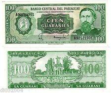 Paraguay Billet 100 Guaranies 1952 GENERAL JOSE DIAZ P205 NEUF UNC