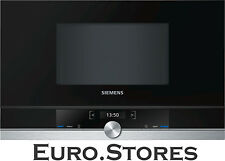 Siemens iQ700 BF634RGS1 Built In Microwave Oven Stainless Steel 21L 900W Genuine