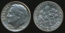 United States, 1968-D Dime, Roosevelt - Uncirculated